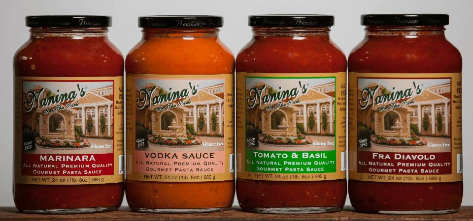 Nanina's sauces